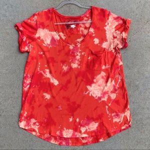 CUSTOM T.LA Bleach and Color Tie Dye T-Shirt L